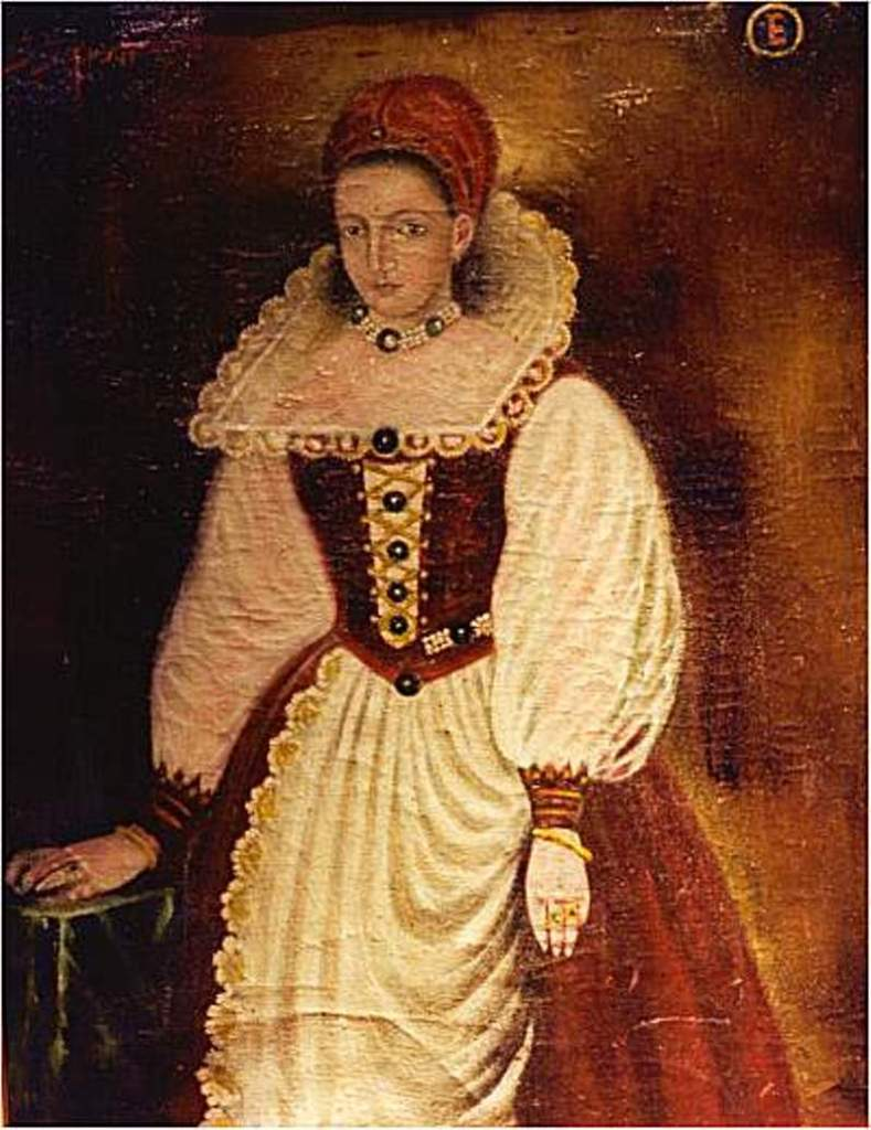 Image of Elizabeth Báthory from Female Serial Killers Aren't a Type: Real-life Villains series, lynettemburrows.com