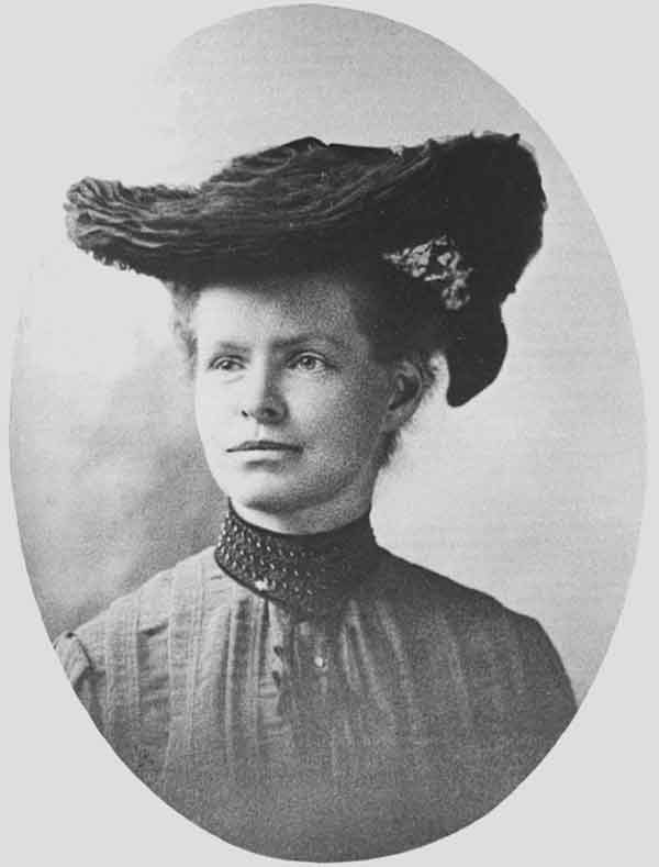 Photograph of Nettie Stevens the first to discover the sex chromosomes
