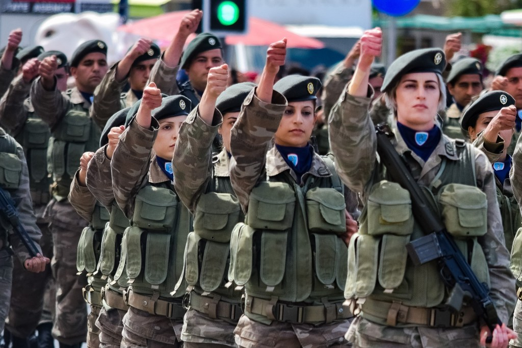 image of Greek armed forces doing their duty one of the reasons why war