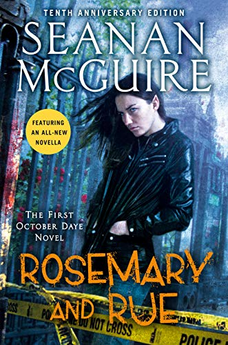Image of the book cover for Rosemary and Rue. Do You want to read more?