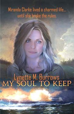 cover of the book My Soul to Keep shows a woman with a compelling stare above an image of a massive explosion A strong midpoint powers your novel