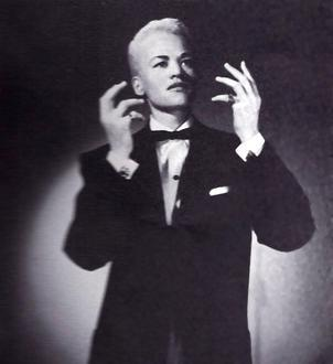 photo of Stormé DeLaverie performing as her male persona