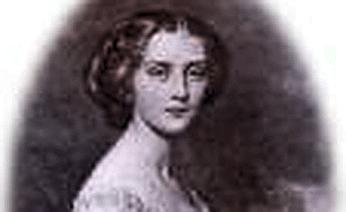 Portrait of the Countessa Hélène de Pourtalès the first female Olympic Champion to strike gold.