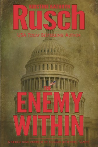 The cover of Enemy Within shows the dome of the Capitol building in brown and gold tones with the title in red letters over the base of the dome.