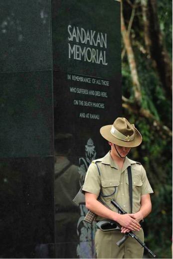 Australian soldier, Anzac Day
