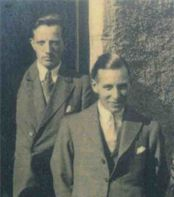 Fleming (L) and Denis, 1934