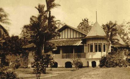 The Emerson-Elliott home in Singapore