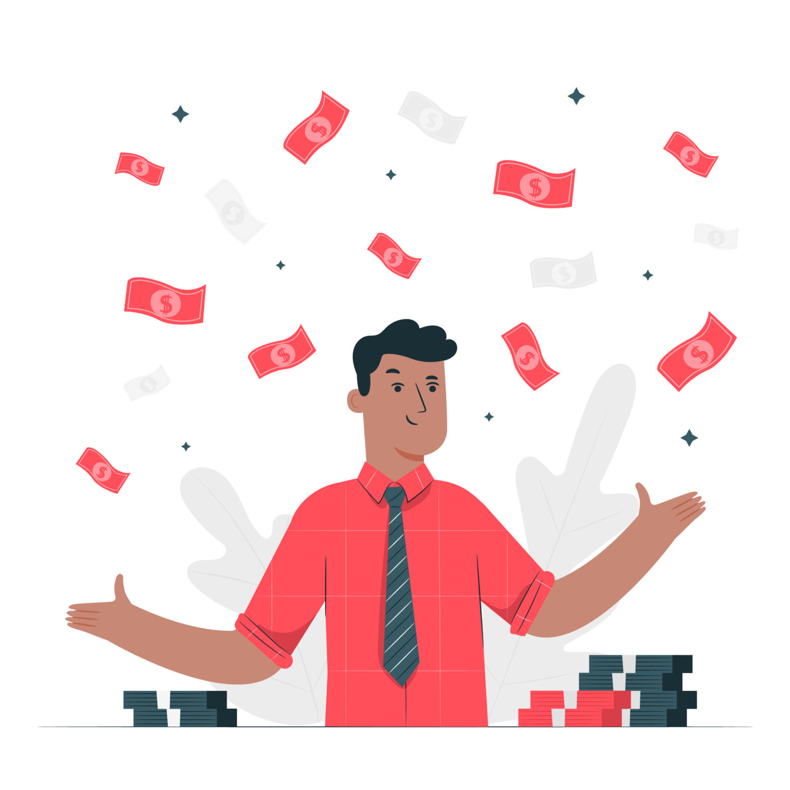 Making money becomes faster