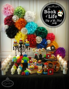 Lynlees also book of life party for the day dead lynlee   rh