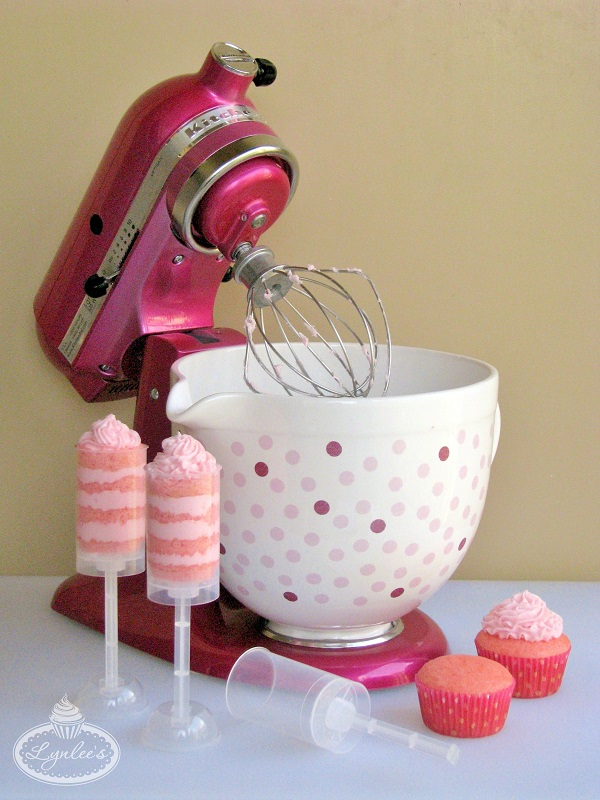 pink kitchen aid mixer cabinet wholesale think with cook for the cure cakes!