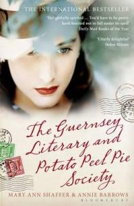 Cover of book: The Guernsey Literary & Potato Peel Pie Society.