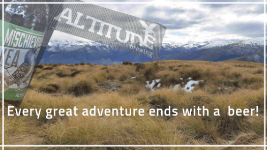 Altitude Brewing's Motto: Every great adventure ends with a beer!