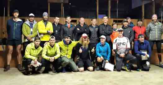 The Revenant Competitors group photo at the Welcome Rock Woolshed.