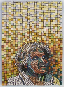 fine art mosaic portrait by Lynn Bridge in Austin, Texas