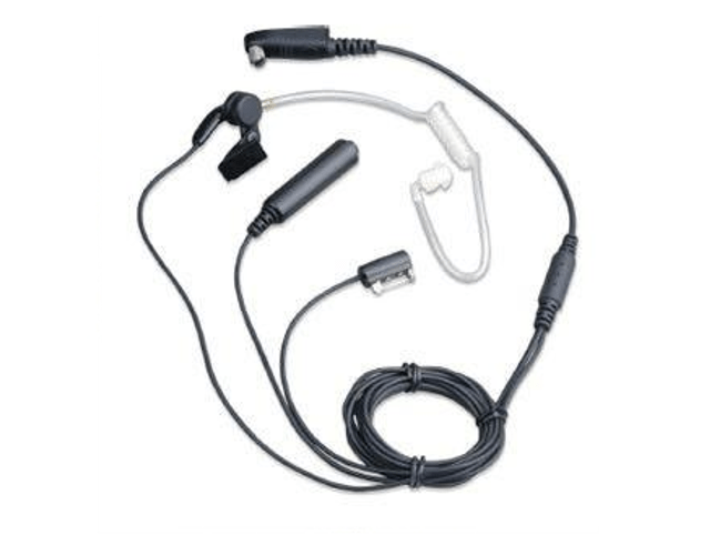 Hytera PD700 EAN18 3-wire Surveillance Earpiece with