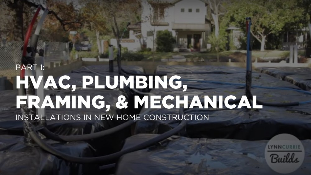 medium resolution of plumbing top out electrical wiring and hvac installation lessons in real estate investing