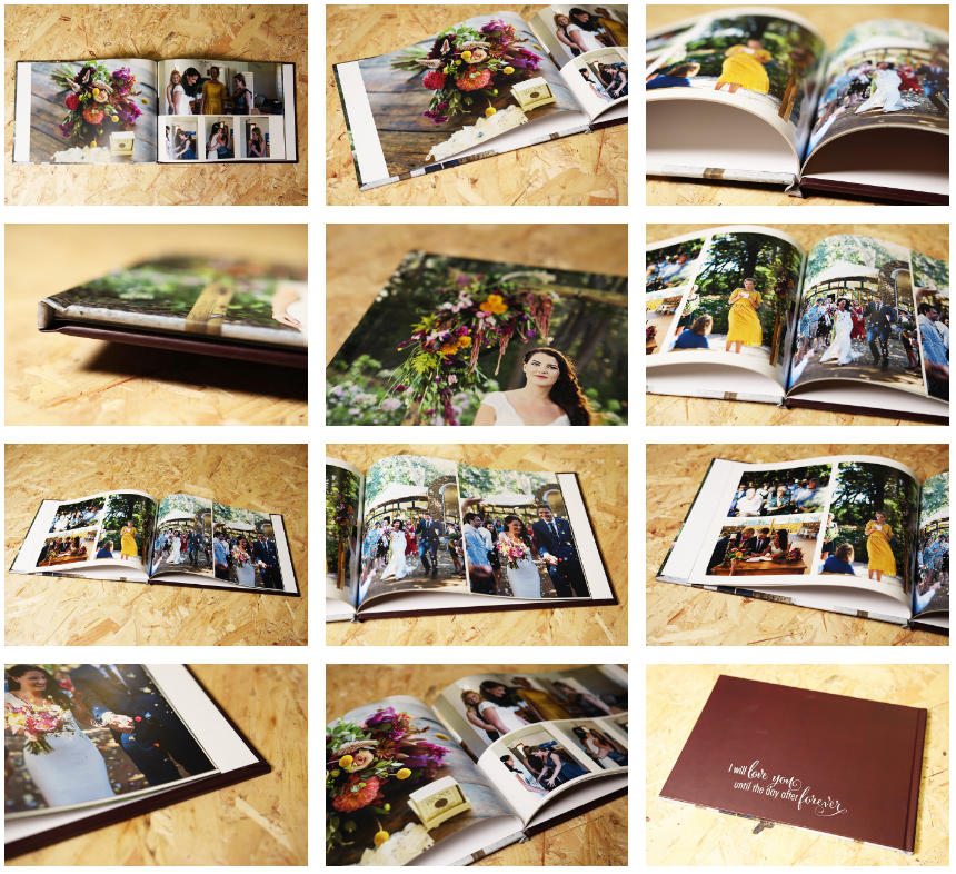 Personalised Hardcover photo album
