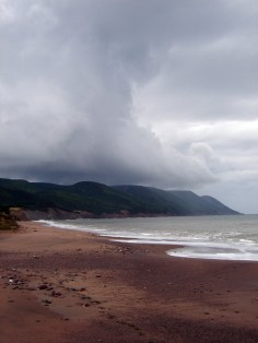 Four Mile Beach, Aspy Bay, Cape Breton, Nova Scotia