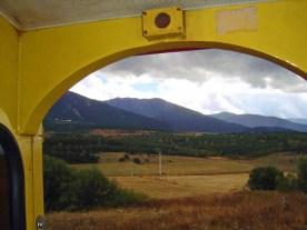 litttle yellow train i pyrenees