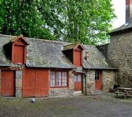 barn at Combourg France