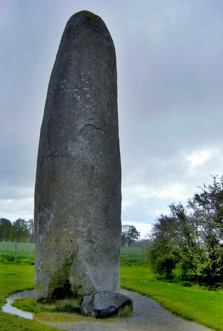 Menhir at Dol De Bretagne, France
