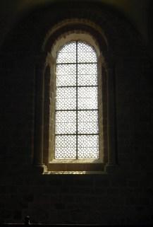 window in Mont St Michel