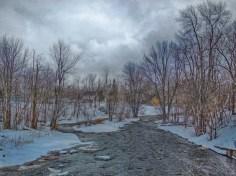 Raisin River at Martintown, Ontario