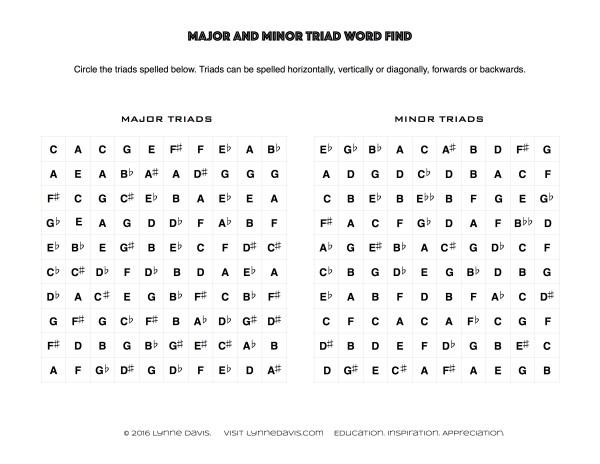 Triad Wordfinds