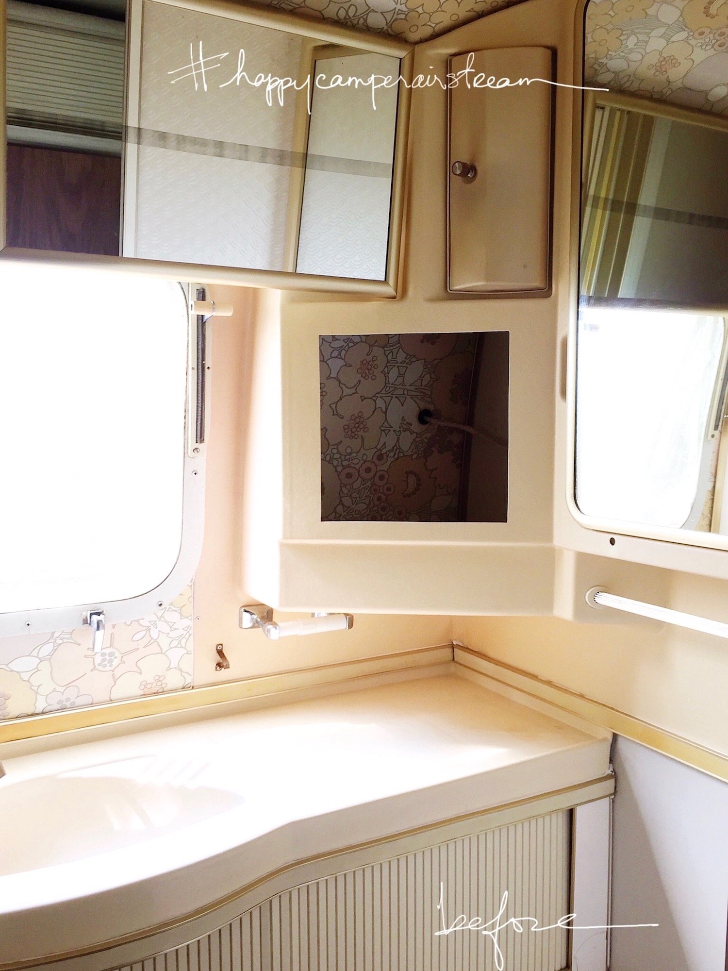 Video Before After Airstream Renovation Design The Life