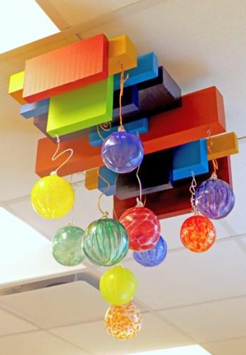 finished ceiling piece © Lynne Medsker