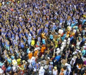crowd scene