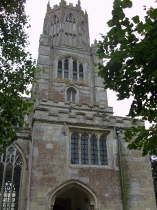 Front of Fotheringhay Church