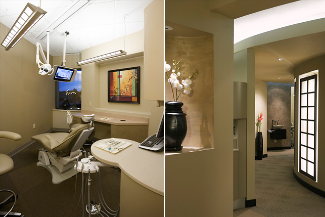 Architecture and Interior Design for Dentists Office