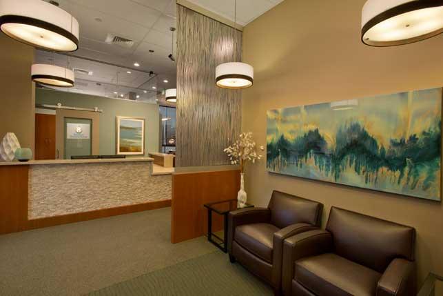 Endodontic office Interior design and Architecture