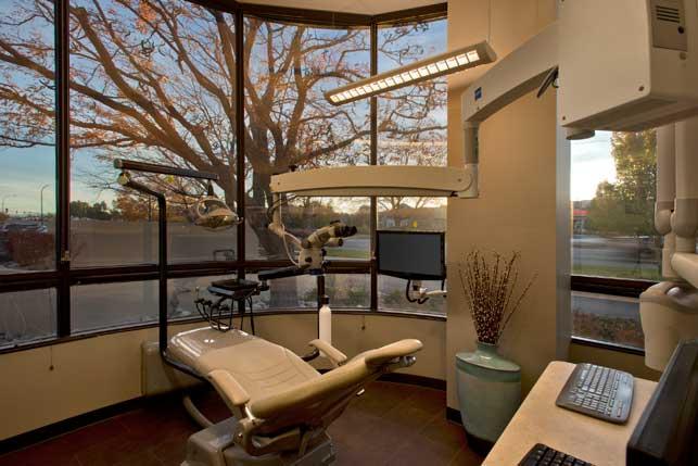Endodontic office Interior design and Architecture  Belmar Endodontics  Lynne Thom Architects