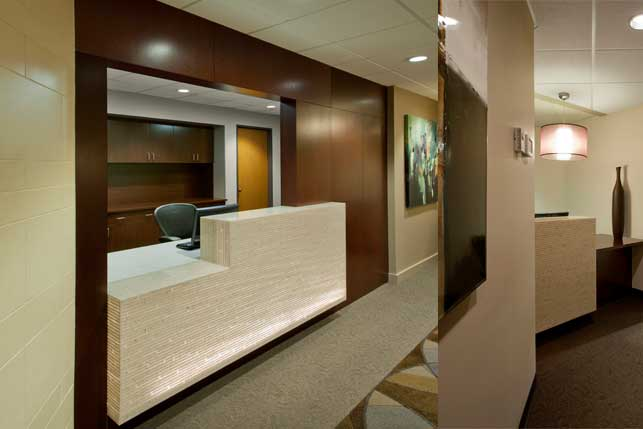 Oral Surgery office Interior design and Architecture