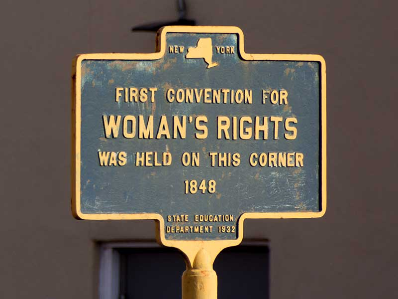 Women's Rights Convention Sign