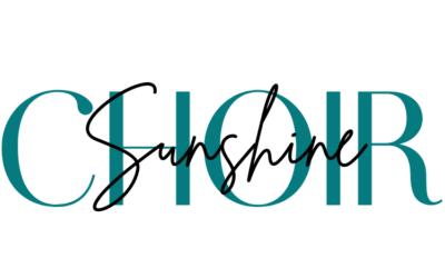Sunshine Choir Sign