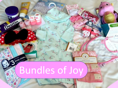 Baby Items for Bundles of Joy Donations