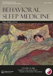 Behavioral Sleep Medicine: Vol 18, No 6