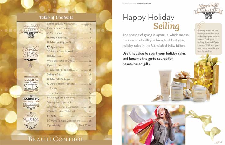 BeautiControl Holiday Success Guide