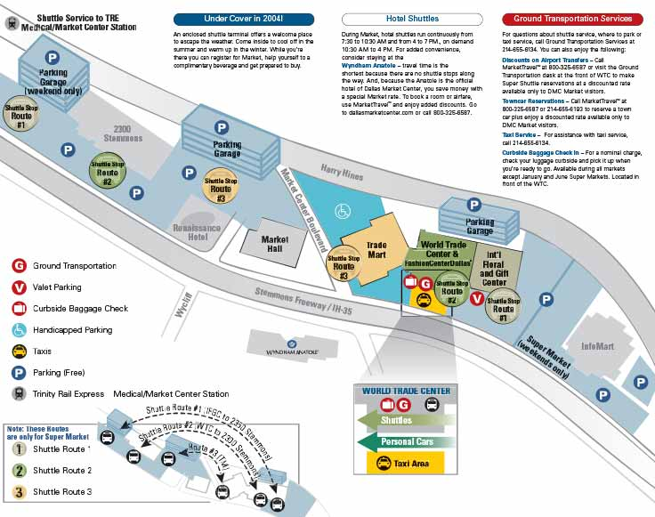 DMC Parking Guide