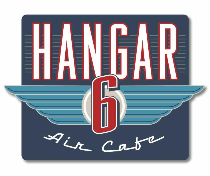 Hangar 6 Air Cafe Logo