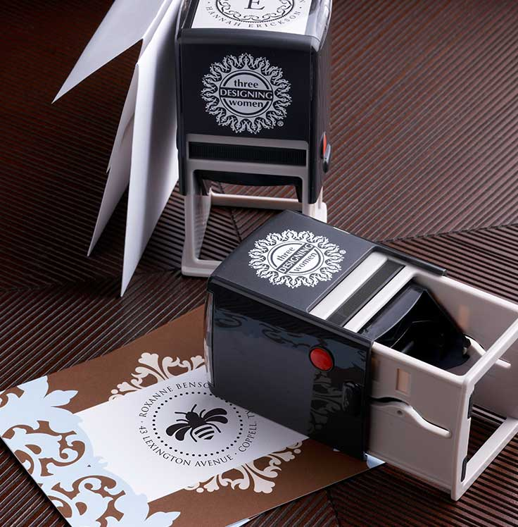 Three Designing Women Stamper and Cards