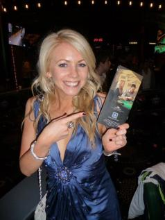 Lynn Gilmartin on the cover of the Crown Poker Guide