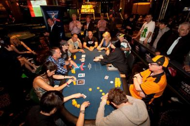 The EJ Whitten Charity Poker Tournament at Crown Casino