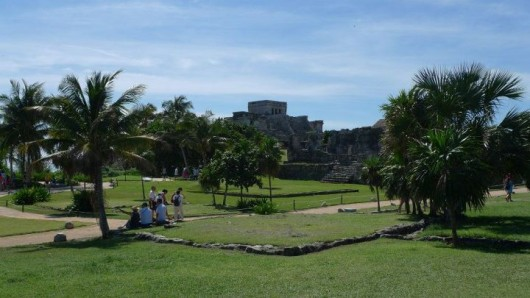 The Mayan Ruins in Tulum