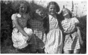 Sheila, Mum, Norma and Aunt Elizabeth