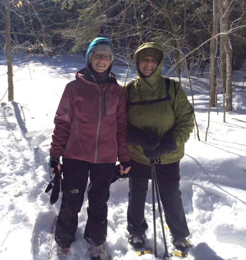 LRCT guided snowshoe hike with Janice
