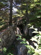 And then there was this cave just off the trail... No, I did not go in!